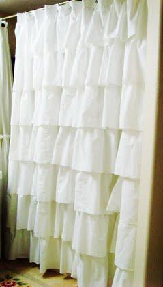 Curtains Ideas anthropology shower curtain : do it yourself divas: DIY: Anthropologie Inspired Shower Curtain ...