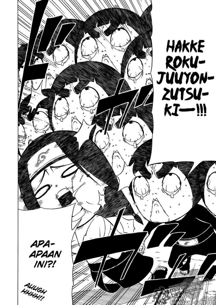 Baca Manga Komik Rock Lee Sprintime of Youth