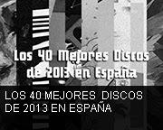 Los Mejores Discos de 2013 en España