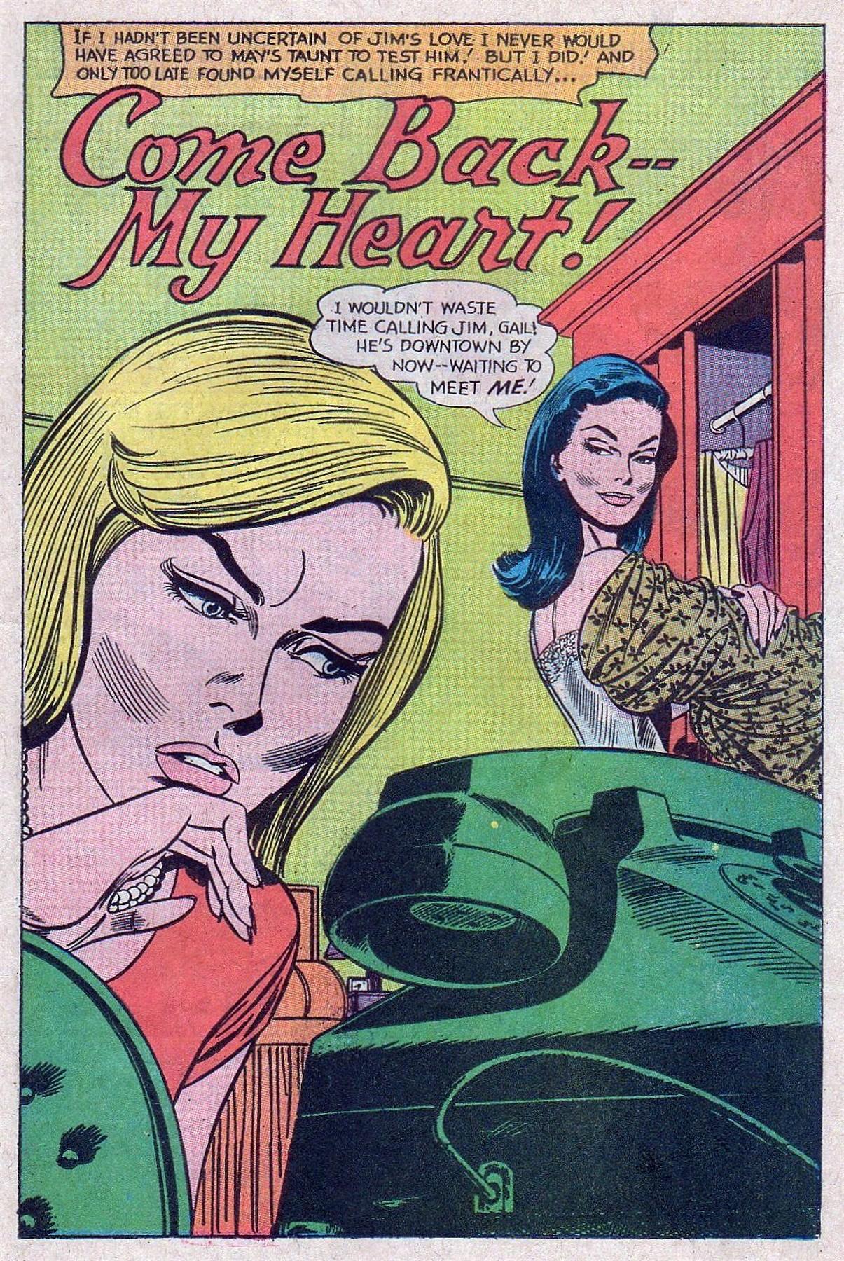 Read online Secret Hearts comic -  Issue #129 - 11