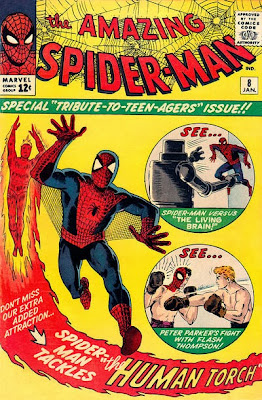Amazing Spider-Man #8, the Living Brain