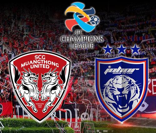 AFC Champions League 2016 (Play-off) : Johor Darul Ta'zim vs Muangthong United FC