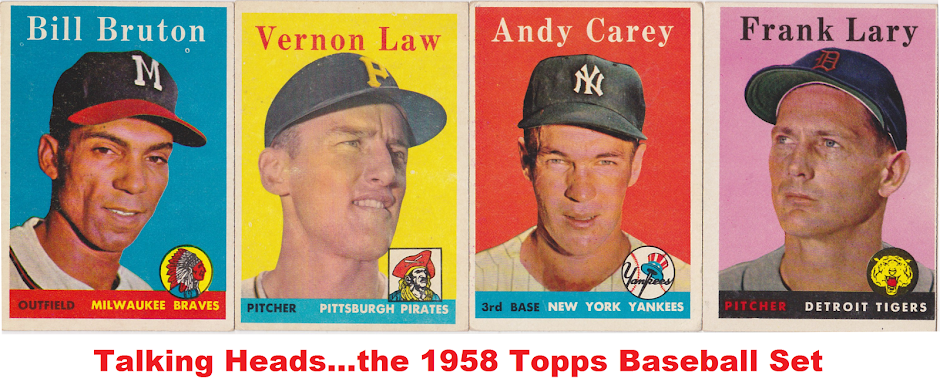 Talking Heads: The Topps 1958 Baseball Set