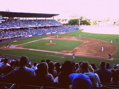 Salt Lake Bee's Baseball Game @ everything's hanging on this moment