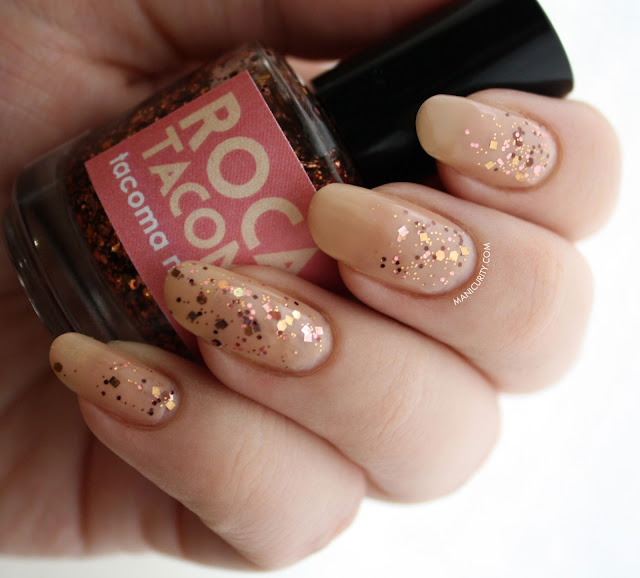 Manicurity | Sonoma Nail Art Roca of Tacoma over Revlon Trade Winds