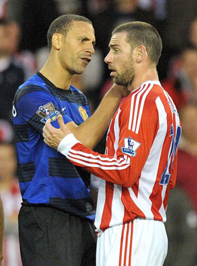 Stoke City 1 - 1 Manchester United (2)
