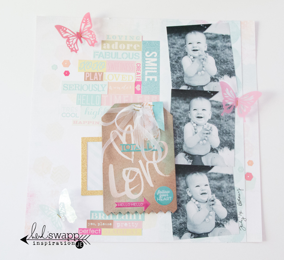 Love Totally @heidiswapp @createoften #heidiswapp #heidisdreamy #scrapbooking