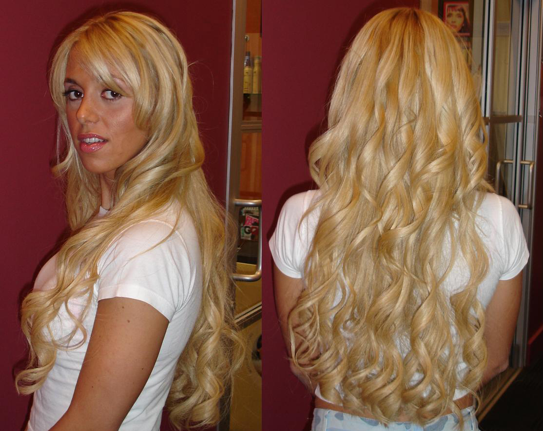 Remy Tape Hair Extensions 55