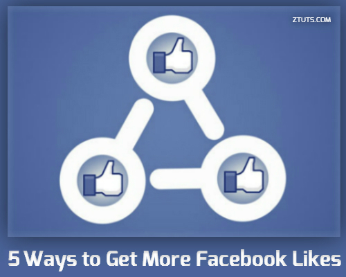 how to create a facebook page and get likes