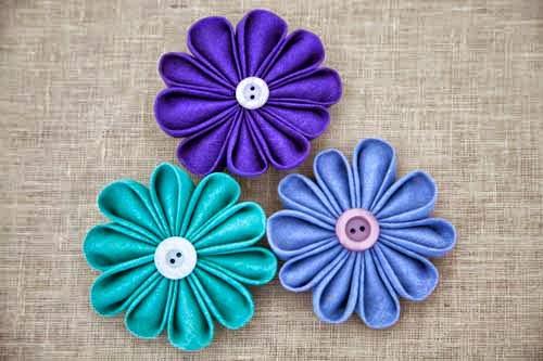 Fotos De Flores Feitas De Fuxico - Aprenda Como Fazer Fuxico Passo a Passo