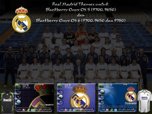 Real Madrid Theme For Blackberry