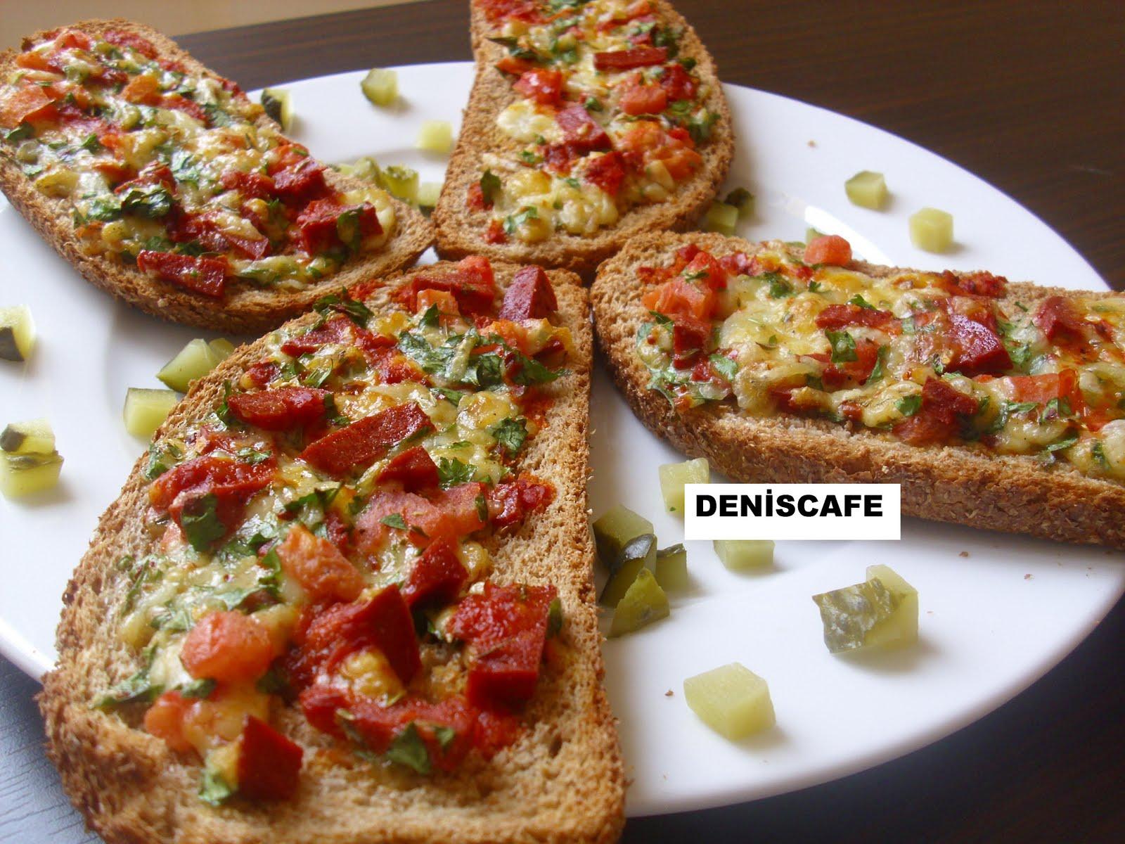 Deniscafe Kolay Ekmek Pizzasi