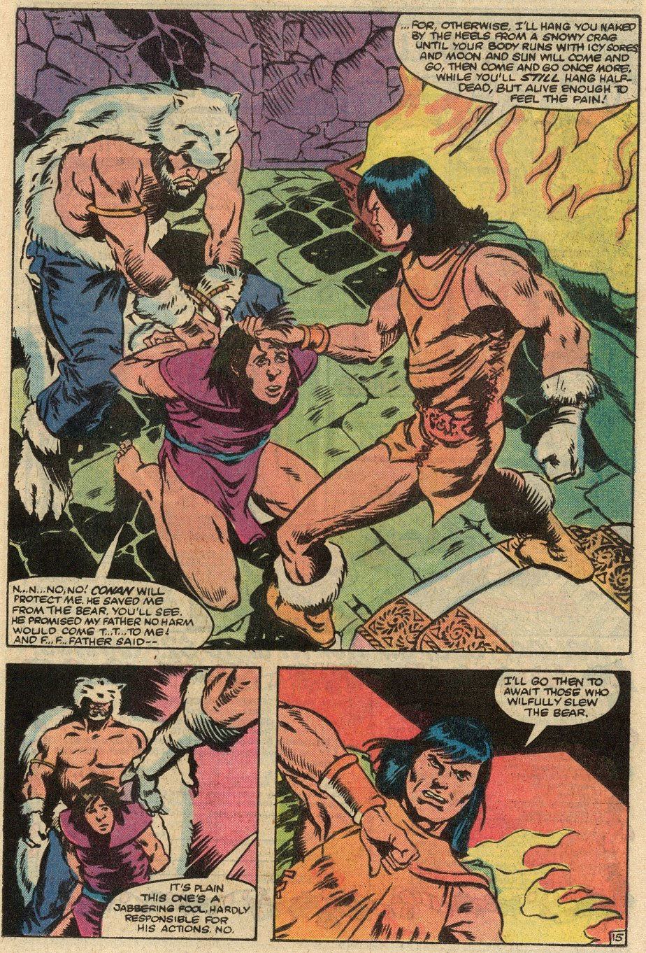 Conan the Barbarian (1970) Issue #145 #157 - English 16
