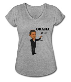 """Exclusive """"Obama Out"""" tee"""