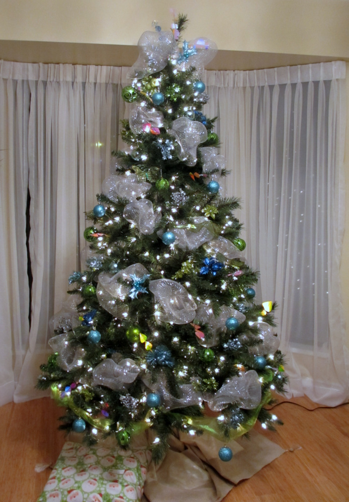 Christmas tree decorations with mesh xolihf memes