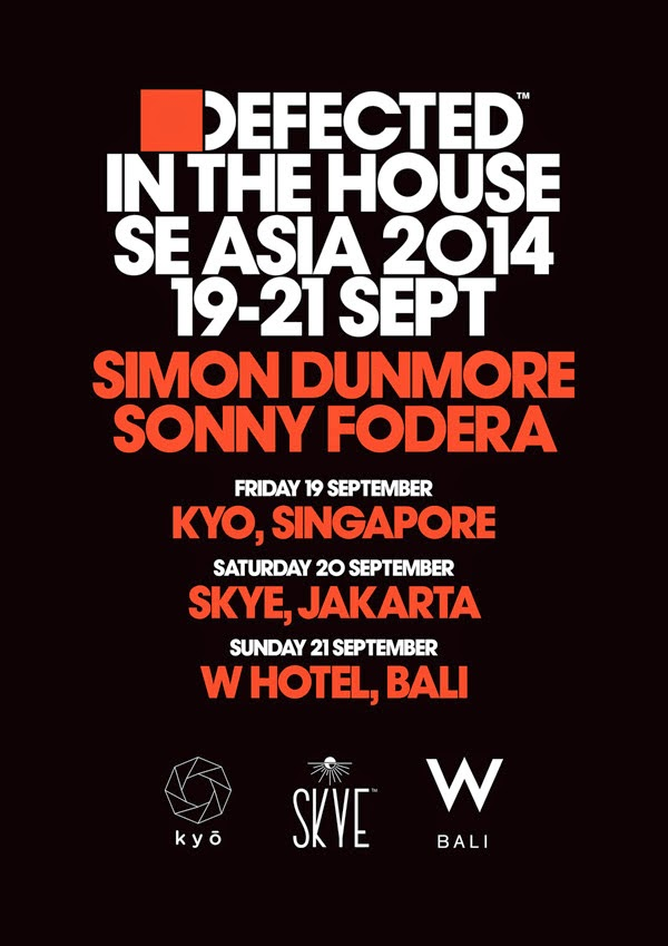 Defected In The House hits three venues across South East Asia, with Sonny Fodera and Simon Dunmore