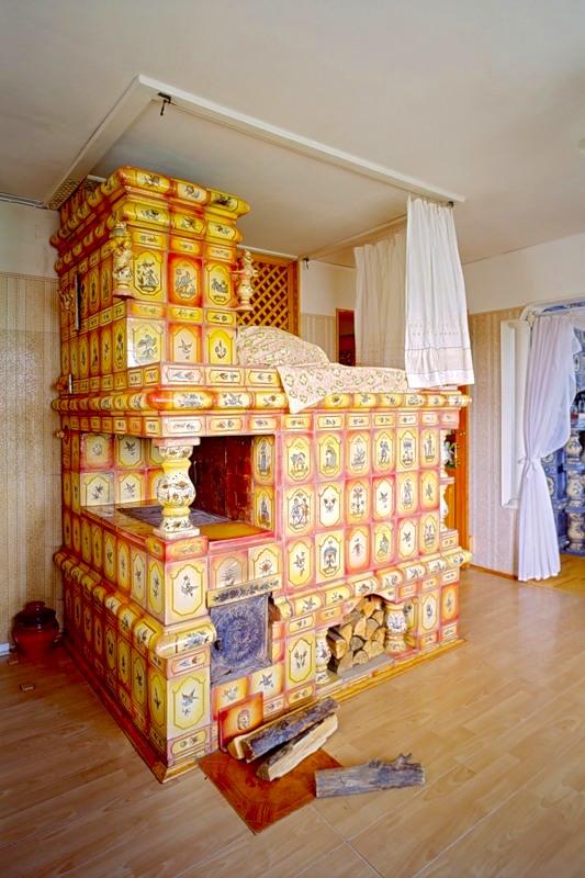 Декор русской печи
