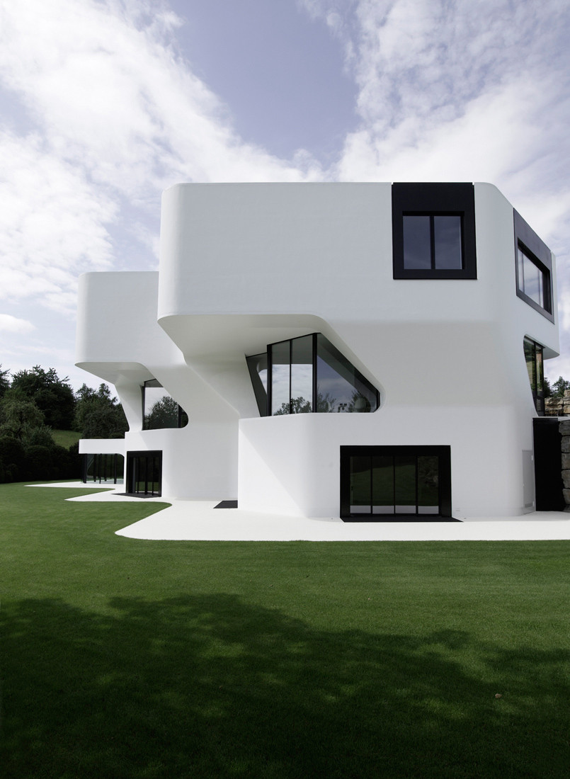 Design villa in ludwigsburg germany dupli casa for Design casa
