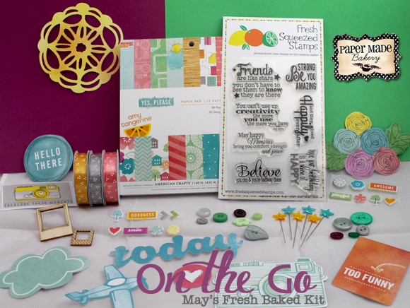 Paper Made Bakery May's Fresh Baked Kit Release Day and Blog Hop