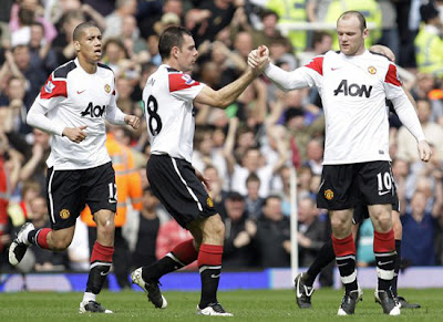 Chris Smalling-Darron Gibson-Wayne Rooney man utd vs west ham