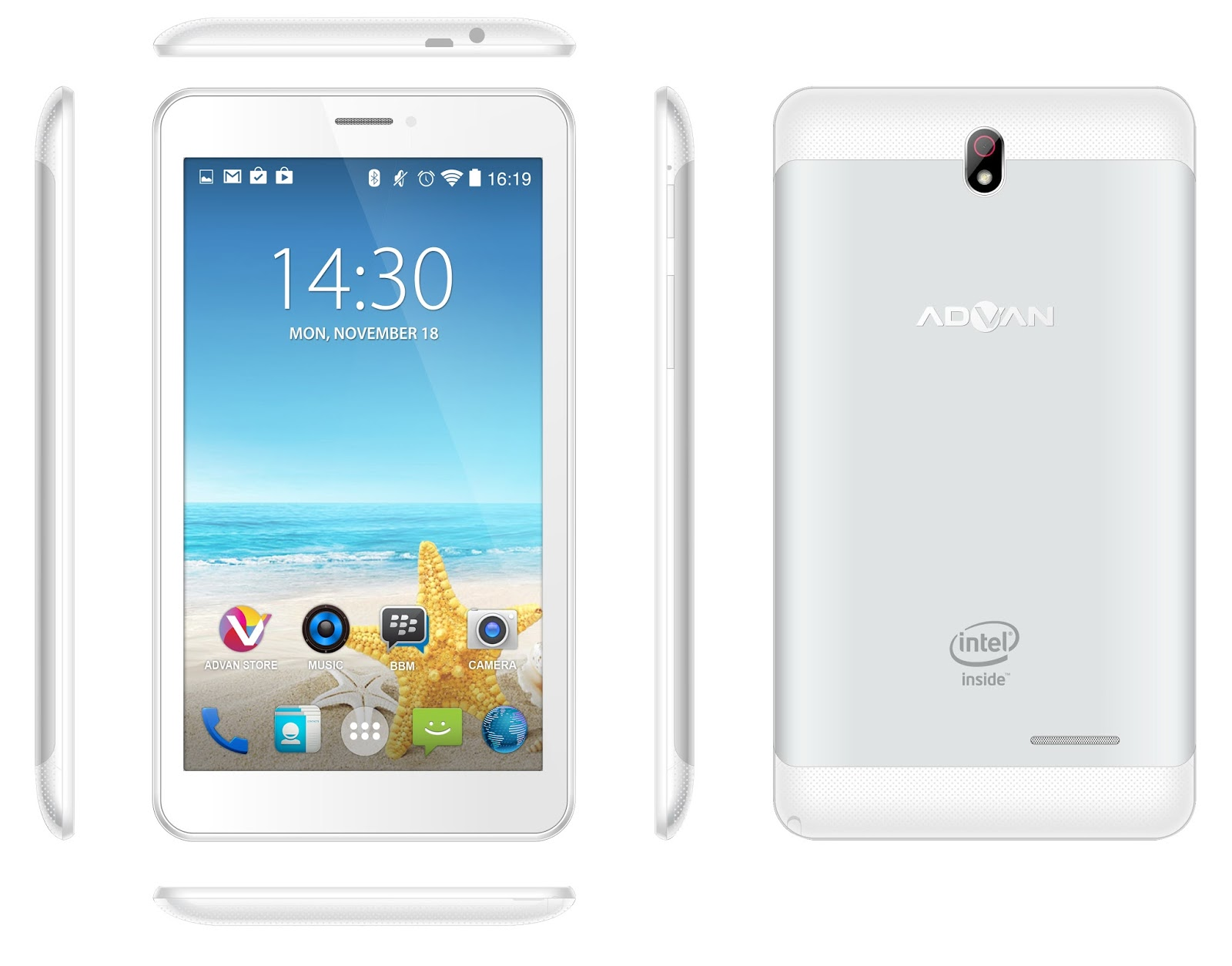 The Cooperation As A Follow Up To Agreement Mega Partnership Through Product Launches New Tablet Device ADVAN Vandroid X7