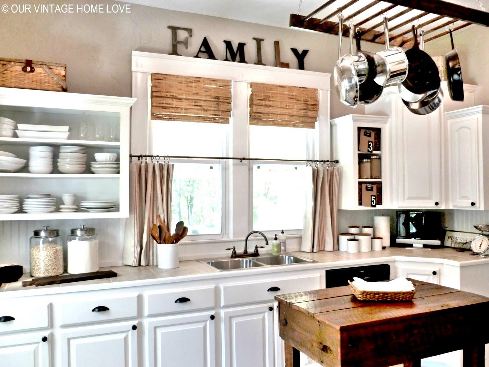 vintage home love: Kitchen Changes