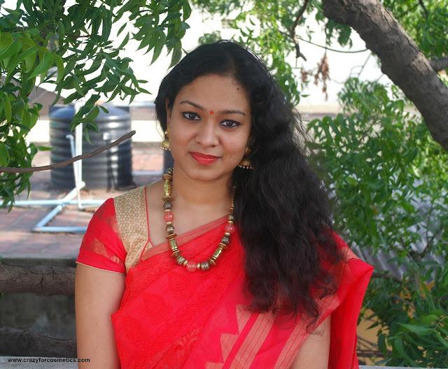 accesorizing a saree