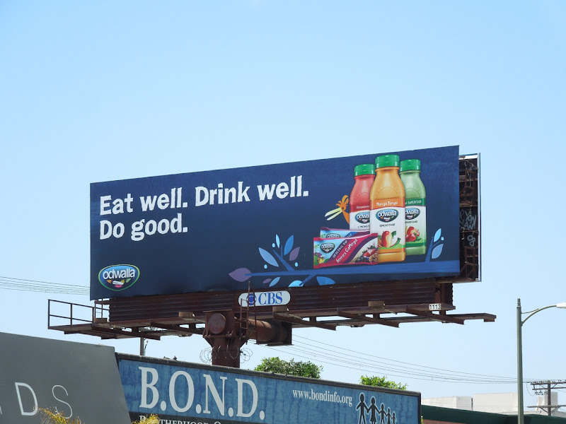 Eat Well Odwalla billboard