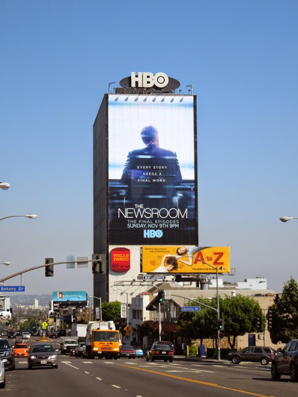 Newsroom giant final season 3 billboard