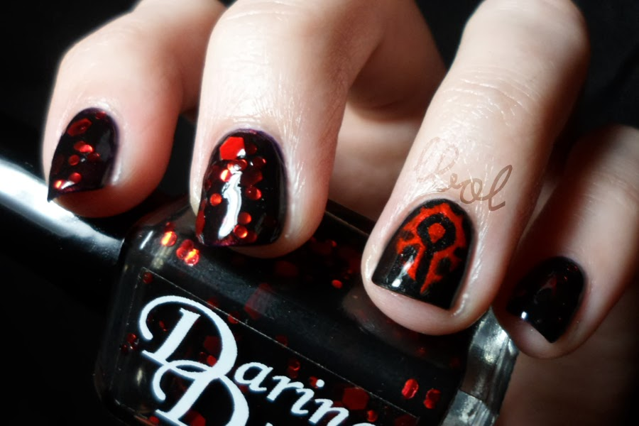 Horde Nail Art Choice Image And Design Ideas Collections