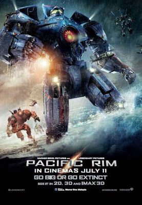 Pacific Rim 2013 film movie poster malaysia