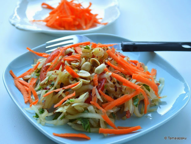 Papaya Salad - Vegan