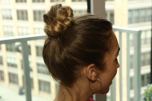 StyleAndPepperBlog.com : : S&P-TV // Braided Top-knot How-to from VO5