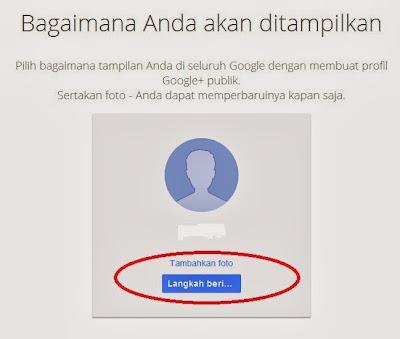 Bagaimana Anda ditampilkan di google+