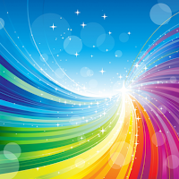 Destello Abstracto Multicolor