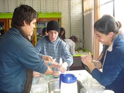 QUIMICA Y DIBUJO, ACTIVIDAD DE CONFLUENCIA - MAYO 011