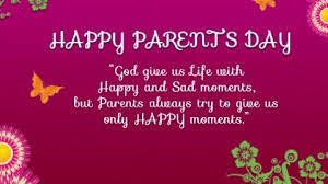 Happy Parent's Day WhatsApp Message