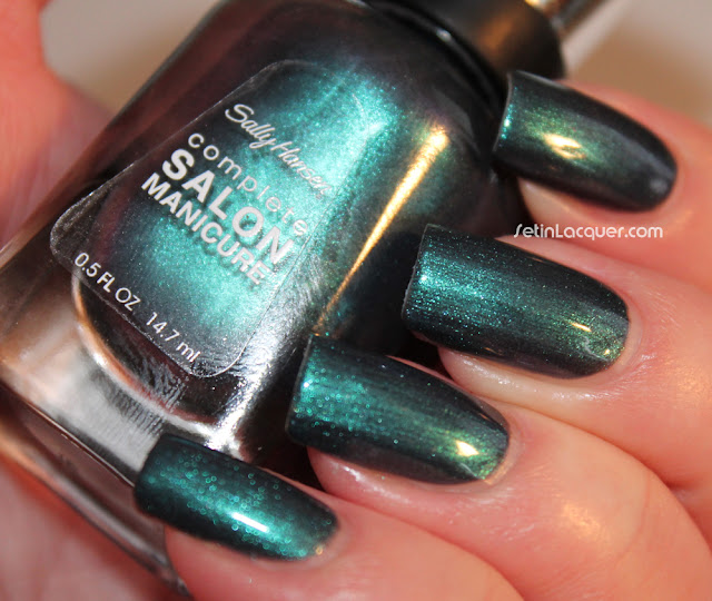 Sally Hansen Black and Blue
