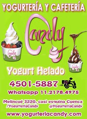 YOGURTERÍA Y CAFETERÍA CANDY