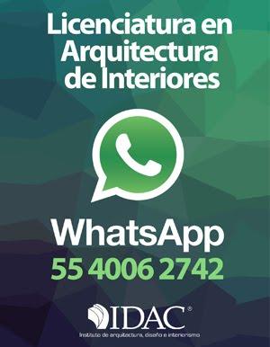 Solicita informes por WhatsApp