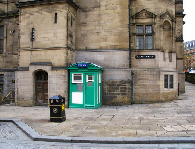 Sheffield, Town Hall, TARDIS