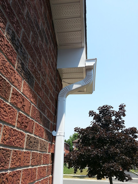 new gutters (eavestrough)