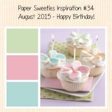 Paper Sweeties August Inspiration Challenge!