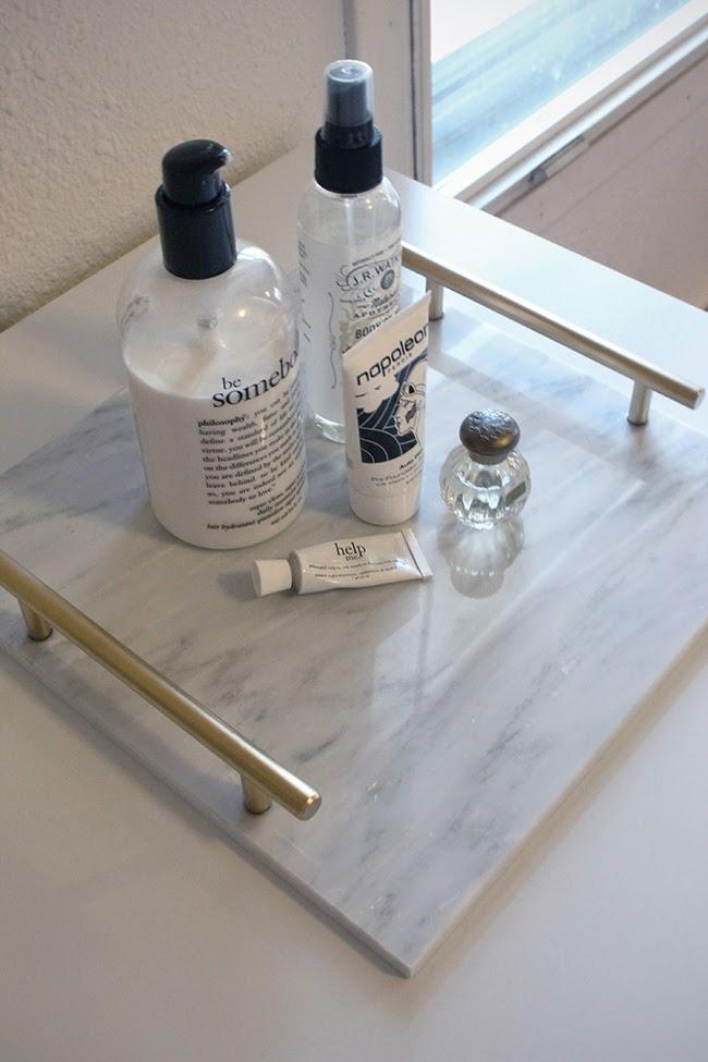 Hammer & Heels: DIY Marble Tray