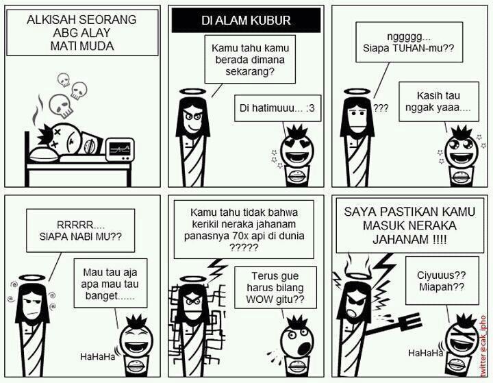 Komik Gambar Lucu Ciyus Miapah Anak Alay