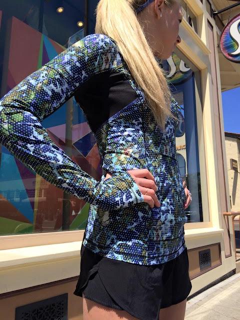 lululemon-runbeam-hoodie floral-sport