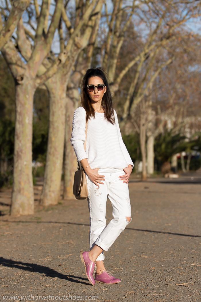 Blogger de moda española adicta a los zapatos