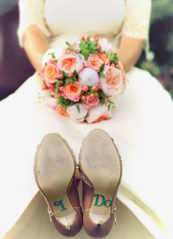 I do. Wedding shoe detail