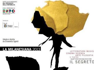 La Milanesiana dal 12 giugno al 9 luglio 2013 a Milano