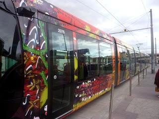 Le nouveau tram à Montpellier